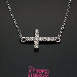 Náhrdelník ležící kříž